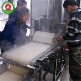 干豆腐机正在生产过程中