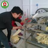 客户操作干豆腐机