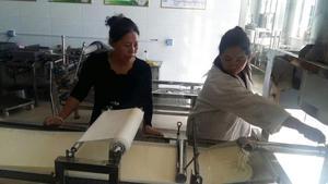 中型干豆腐机客户操作练习